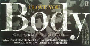 (J-Pop)Body - I Love You (3 Inch Single)